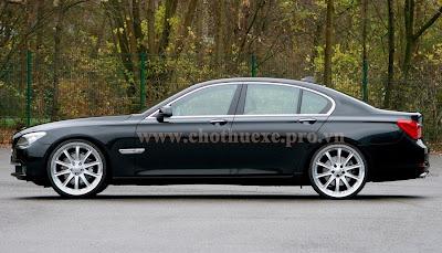 Cho thuê xe VIP BMW 750i hạng sang 2
