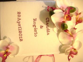 O casamento da Claudia e do Rogerio!!!!!
