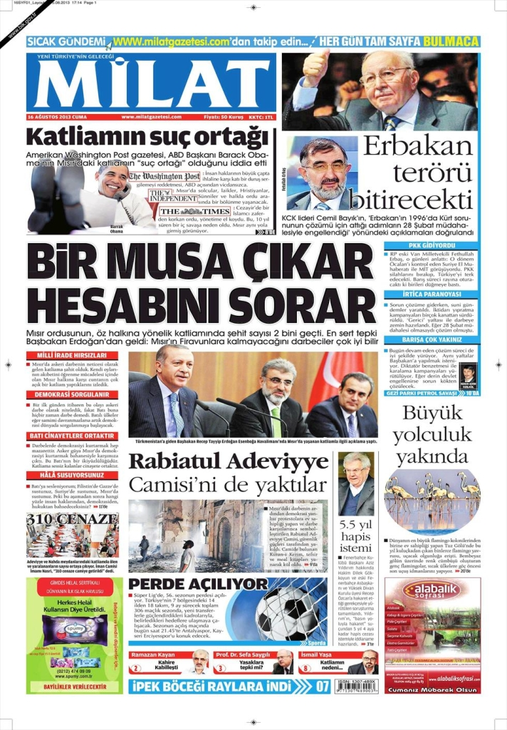 milat front page aug 16