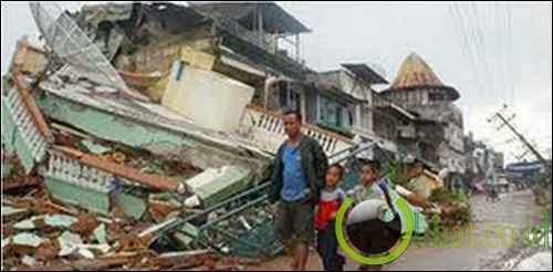 Gempa Lepas Pantai Sumatera Utara, Indonesia