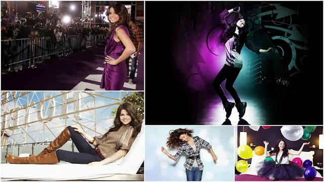 Collage con Imagenes de Selena Gomez