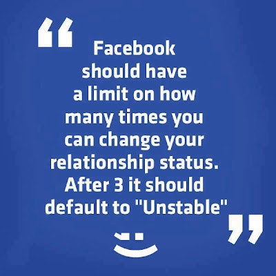 Facebook Should have Limit for Relationship status Change? What do u Say?