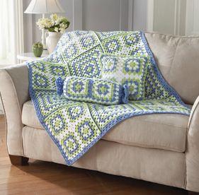 Casa da nane manta de croch para sof for Mantas para sofas
