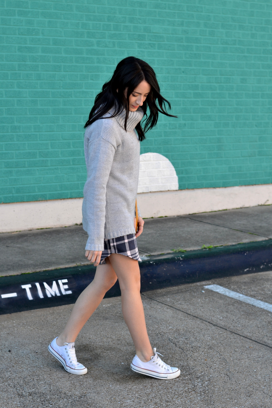 Casual Fall Outfit_Converse_Boyfriend Sweater