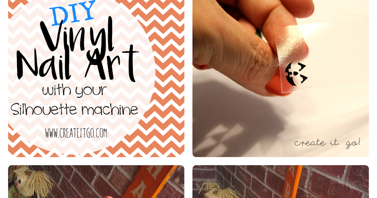 Using Your Silhouette To Create DIY Vinyl Nail Art It Go