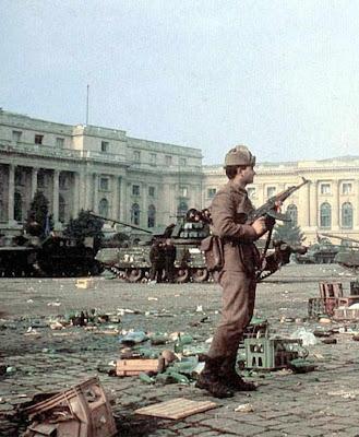 Repressão em Bucarest, 1989, Romênia
