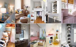 150+ ιδέες για μικρούς χώρους