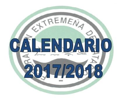 CALENDARIO 2017/2018