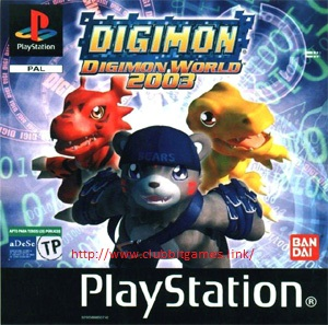 Link Digimon World III PS1 ISO Clubbit
