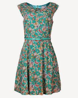Material 100 polyester colour pink flare dress closet closet