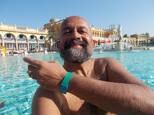 """In """"SZECHENYI THERMAL BATHS"""" in Budapest"""
