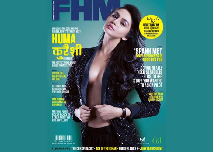 huma qureshi fhm magazine