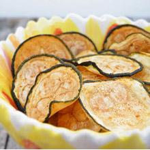 Eenteresting, zucchini chips