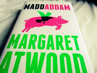 review, MaddAddam, Margaret Atwood, book, flying pig, hardback