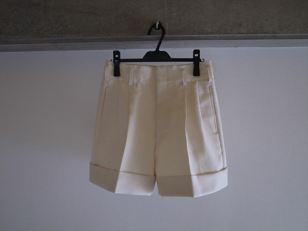 COMME des GARÇONS 2013 SS - White Short Pants
