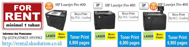 Info rental Printer Laserjet Yogyakarta