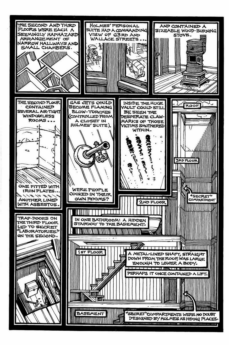 MURDER CASTLE OF HH HOLMES! EXCERPT FROM HAUNTED CHICAGO