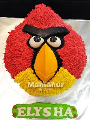 3D Angry Bird Cake
