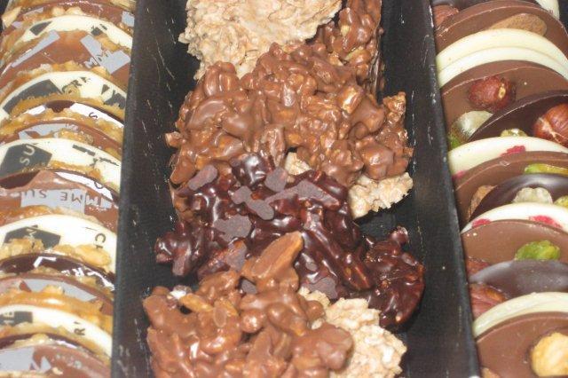 Bombones de la Confiteria Pomme Sucre en Gijon