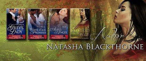 Check Out Natasha Blackthorne&#39;s Erotic Historical Romances