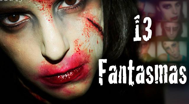 Maquillaje Halloween 13 Fantasmas Ghots makeup Silvia Quiros
