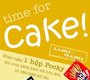 Khuyến mãi hấp dẫn khi mua bánh kem Kinh Đô, tin khuyen mai, khuyen mai an uong, bakery khuyen mai, diemanuong365, diem an uong