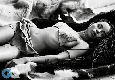 Zoe Kravitz hot GQ magazine June 2015 photo shoot by Steven Pan