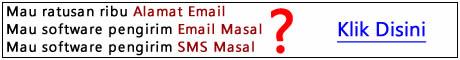 Ratusan ribu alamat email aktif