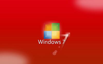 Windows 7 Red Wallpapers Blog Art Designs
