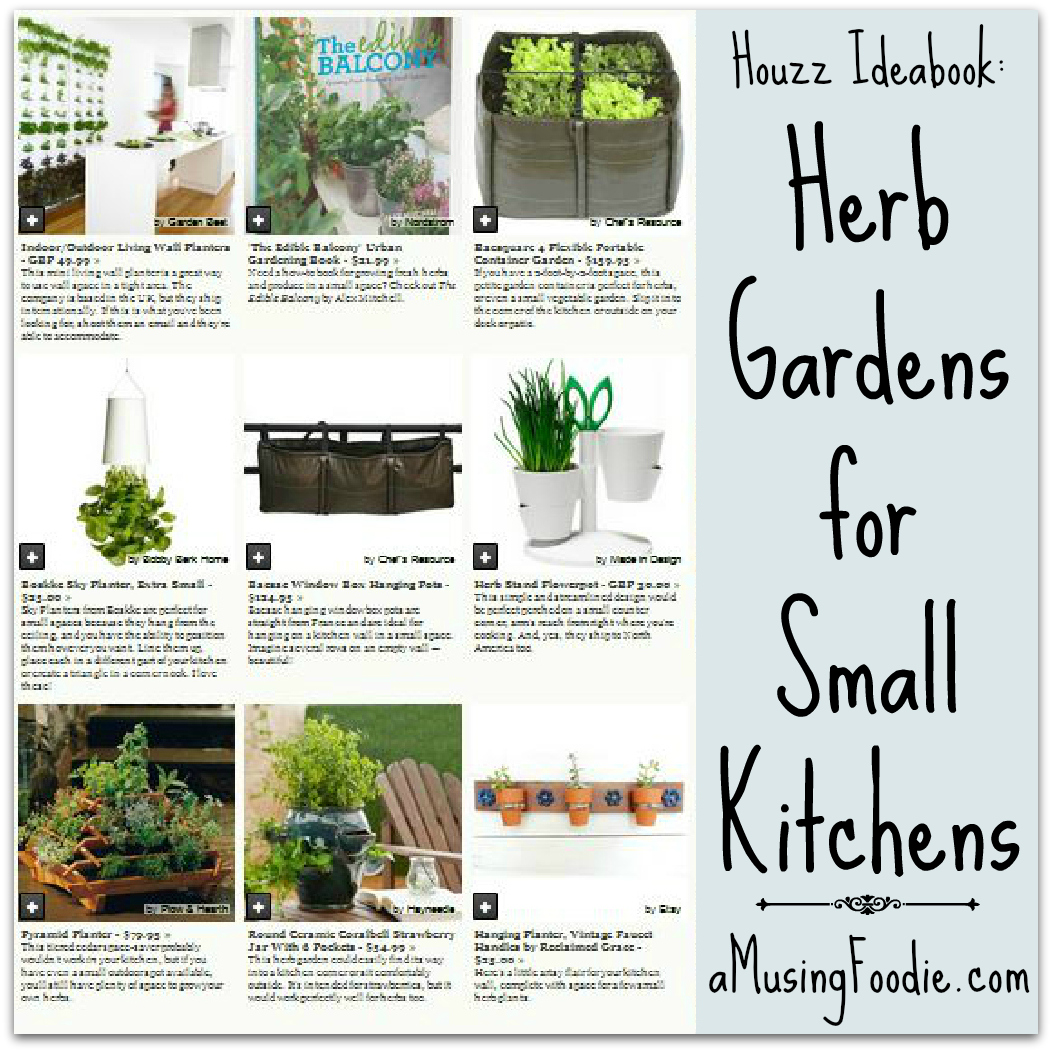 Herb Gardens for Small Kitchens | @Houzz Ideabook - (a)Musing Foodie
