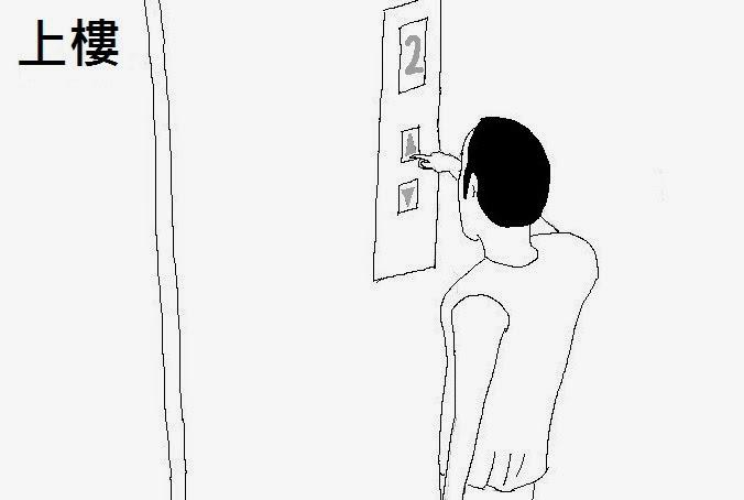 電梯裡的不速之客