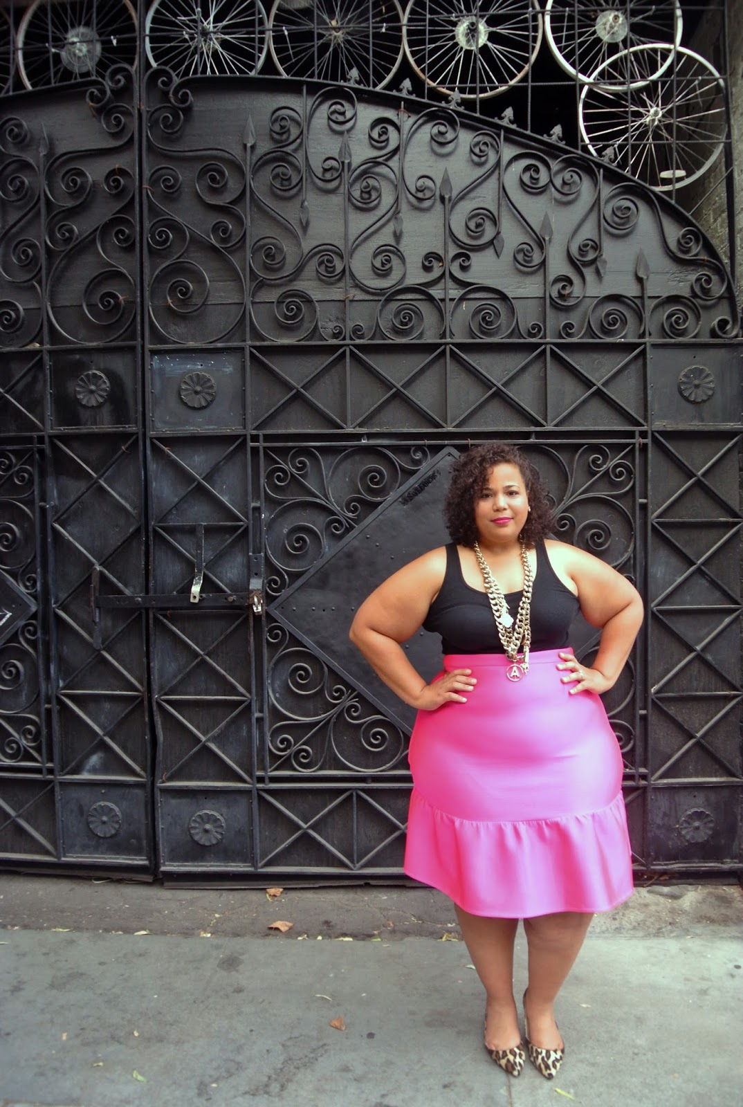 Asos pink skirt, Partying in Oakland