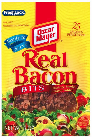 Bacon in addition Thick Cut Or Butchers Cut Bacon furthermore Bacon besides Cheddar Bacon Dip Football Food also West Austin. on oscar mayer bacon bits applewood smoked