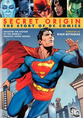 Filme Poster Origem Secreta – A História Da DC Comics DVDRip XviD & RMVB Legendado