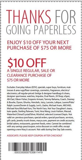Macy's 20 coupon code