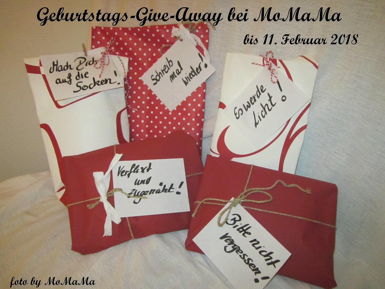 Mein  Give-Away zum 5. Bloggeburtstag