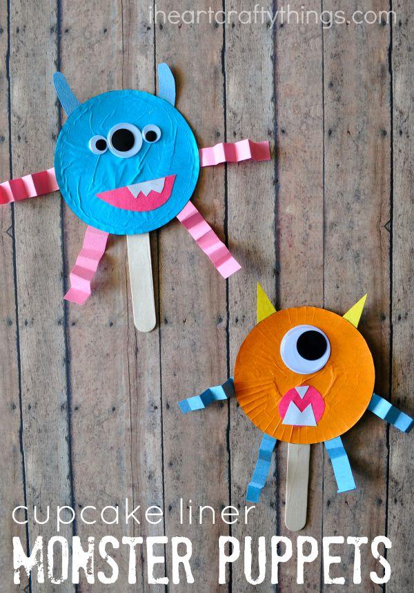 Halloween Arts And Crafts Pinterest