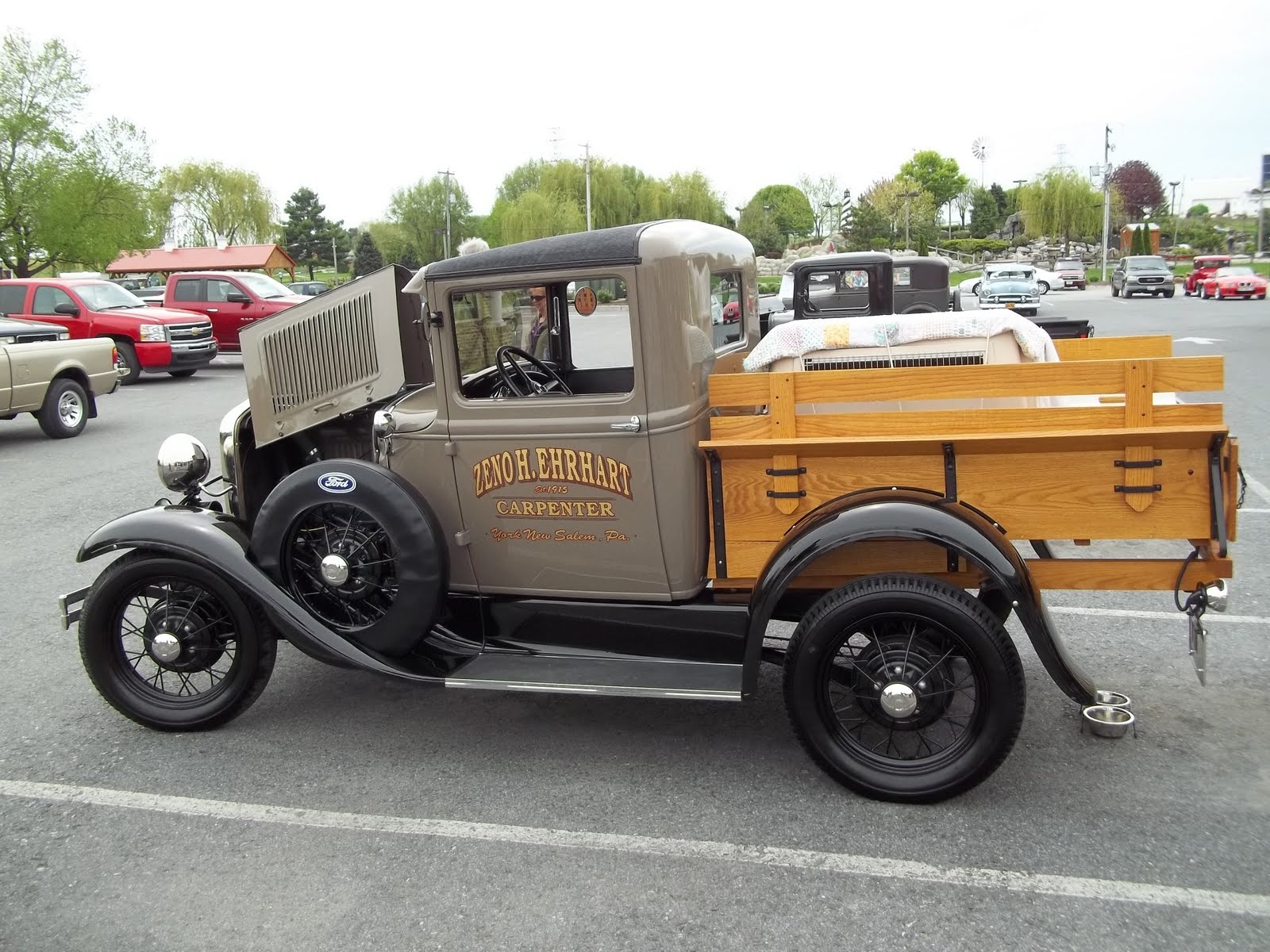 Pure Country Living Antique Car Show In Bird In Hand Pa Lancaster County Featuring Cars Made
