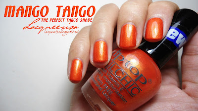 Tip Top Nails South Africa-Mango Tango