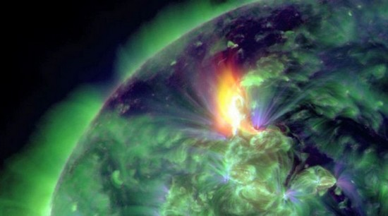 Explosión solar 2012
