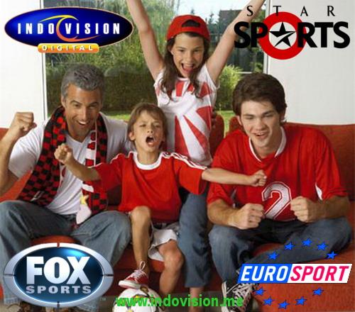 Daftar channel dan saluran olahraga yang ada dalam paket Sports Plus Indovision.