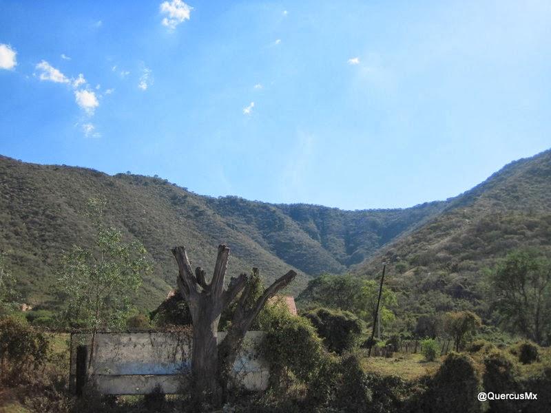 Cerro de Mazatepec en el municipio de Tala, Jalisco