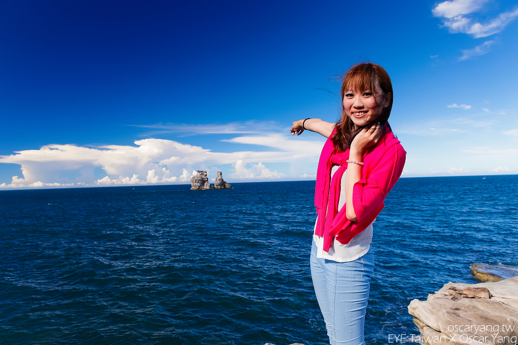 金山神秘海岸燭台雙嶼,EYE Taiwan X Oscar Yang