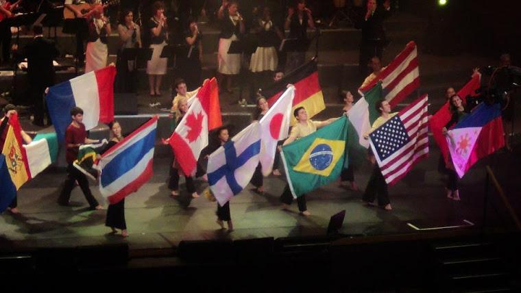Todas as nações adorando ao Rei em Jerusalém!!!