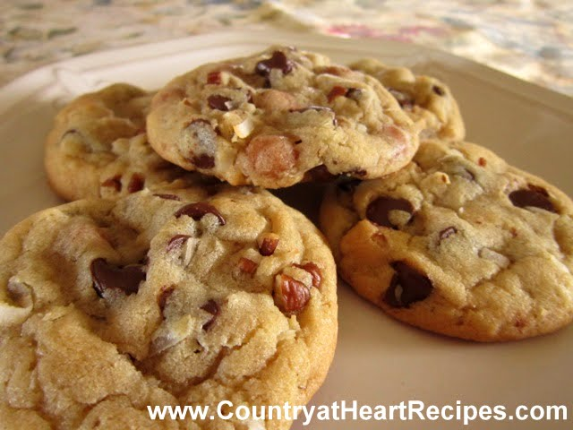 Chocolate covered caramel cookie recipe