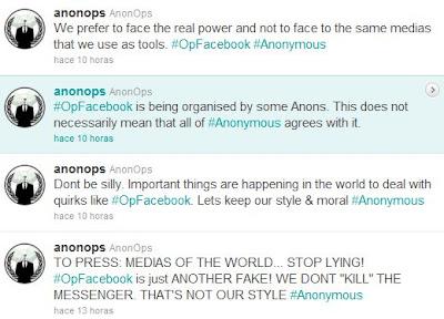 ANONOPS #OpFacebook