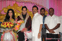 Celebraties at Actor Bharat n Jessy Wedding Reception Photos+%252872%2529 Actor Bharath n Jessy Wedding Photos