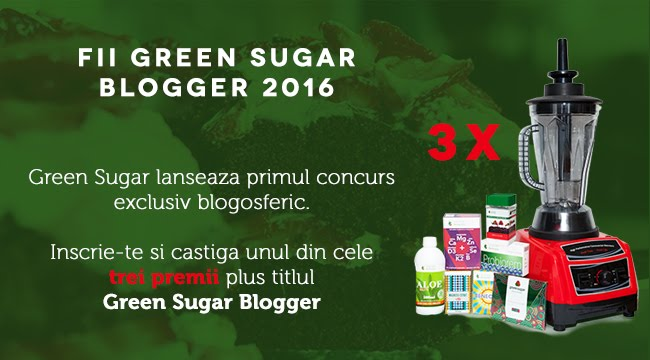 Particip la Green Sugar Blogger 2016