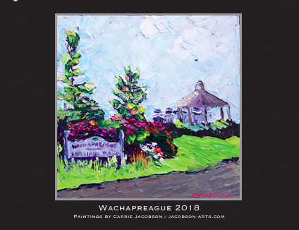 Get your 2018 Wachapreague calendar~