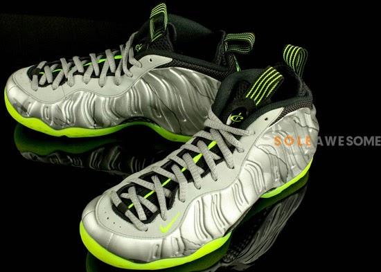 Nike Air Max 2013 Light Green Volt Metallic Silver